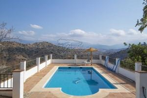 Unique, authentic farmhouse with pool and panoramic views, Comares