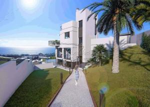 New built villa in Torrox Costa