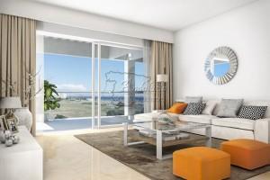 Nieuw appartement nabij het strand