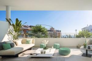 New built penthouse with sea view, Torrox Costa
