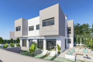 New development of 28 terraced houses