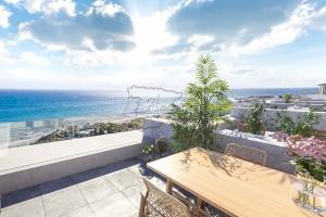 Nieuwbouw woning met zeezicht, Torrox Costa