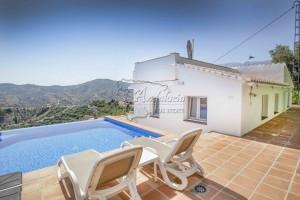 Renovated country villa with lounge terrace, Competa